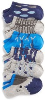 Boy's Stance Shark Assorted 6-Pack Low Cut Socks