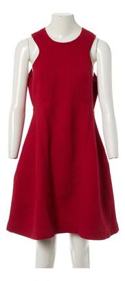Carven Red Cotton Dresses