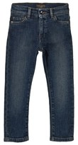 Dolce & Gabbana Blue Mid Wash Slim Fit Jeans