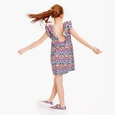 J.Crew Girls' ruffle Liberty® print dress