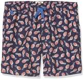 AO 76 Boy's Pineapple Swim Shorts