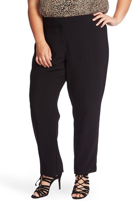 1 STATE Center Seam Stretch Crepe Trousers (Plus Size)