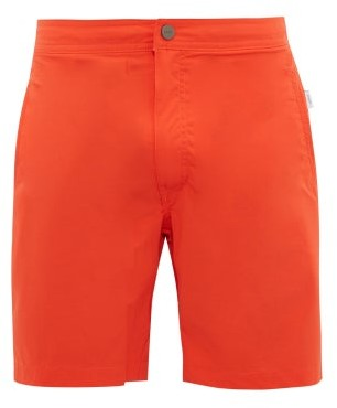 Onia Calder Swim Shorts - Mens - Red