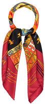 Hermes Kilim Silk Scarf