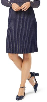 Review Shimmer Knit Skirt