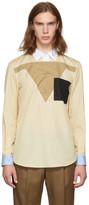 Burberry Beige Contral Collar Shirt