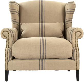 Zentique Napoleon Half Wingback Chair