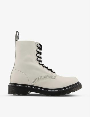 Dr. Martens 1460 Pascal Hardware leather ankle boots