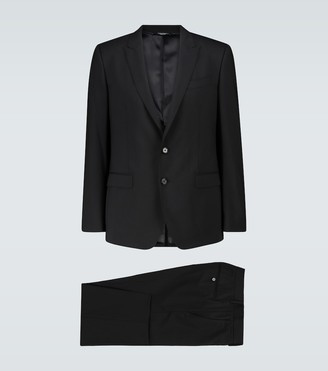 Dolce & Gabbana Martini regular-fit stretch-wool suit