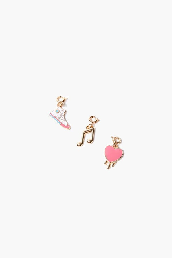 Thumbnail for your product : Forever 21 Music Sneakers Charm Set