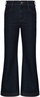 See by Chloe High-Waisted Kick-Flare Jeans