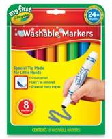 Crayola My First Washable Markers (8-Count)