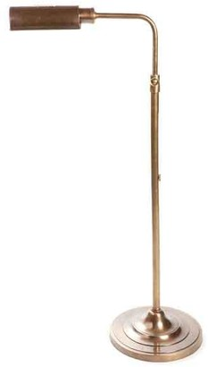 Emac & Lawton Brooklyn Floor Lamp Antique Brass