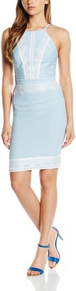 Lipsy Women's Lace Apron Dress