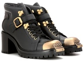 Miu Miu Embellished ankle boots