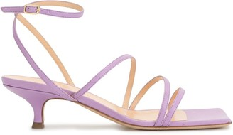 A.W.A.K.E. Mode Square-Toe Strappy Sandals