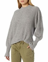 The Kooples Women's Women's Pullover Sweater with Silver Mesh Details