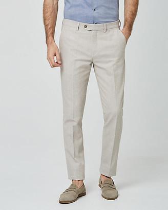 Le Château Linen Blend Slim Leg Pant