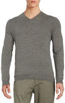 Black Brown 1826 Superfine Merino Wool Sweater