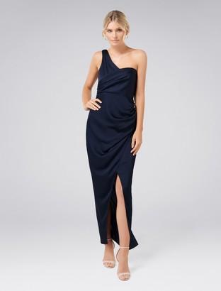 Ever New Camille Asymmetric One-Shoulder Drape Maxi Dress