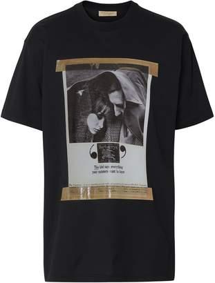 Burberry Archive Campaign Print Cotton T-shirt