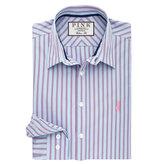 Thomas Pink Watson Stripe Classic Fit Button Cuff