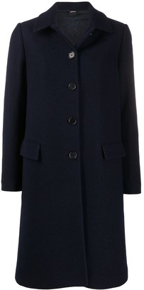 Aspesi Single-Breasted Wool Coat