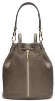 Elizabeth and James 'Cynnie' Leather Sling Backpack - Grey
