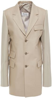 Maison Margiela Stretch-cotton Twill Coat