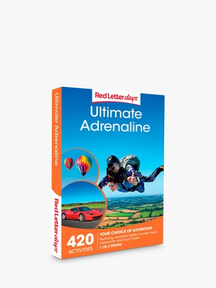 Red Letter Days Ultimate Adrenaline Gift Experience