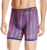 Umbro Men's Striped Performance Boxer Brief