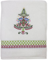 Dena Peppermint Twist Embroidered Bath Towel