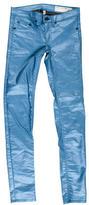 Rag & Bone Metallic Skinny Pants
