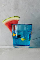 Anthropologie Swimming Fish Glass