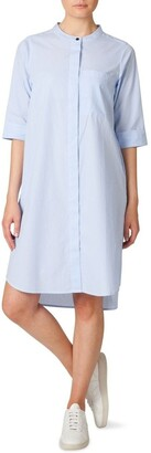 Skin and Threads Button Through Shirt Dress Lt