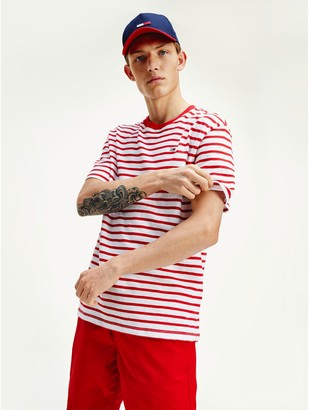 Tommy Hilfiger Organic Cotton Tommy Stripe T-Shirt
