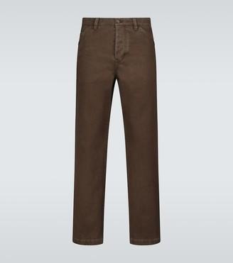 Acne Studios Aleq straight-fit cotton pants