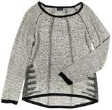 Point Zero Reverse Knit Raglan Sleeve Sweater