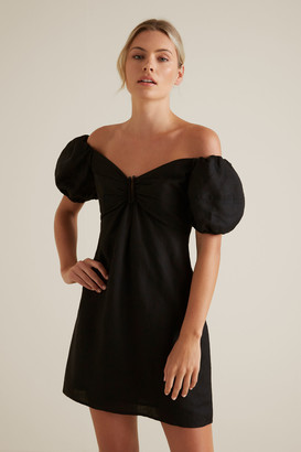 Seed Heritage Off Shoulder Mini Dress