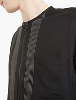 Lanvin Black Zip-Closure Overshirt