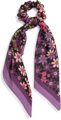 Kate Spade Pacific Petals Silk Hair Tie
