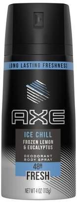 Axe Ice Chill Frozen Lemon & Eucalyptus Scent 48-Hour Fresh Deodorant Body Spray - 4oz