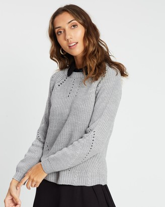 Dorothy Perkins Stitch Interest Jumper