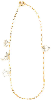 Timeless Pearly CHAIN NECKLACE WITH CHARMS OS Gold, Silver