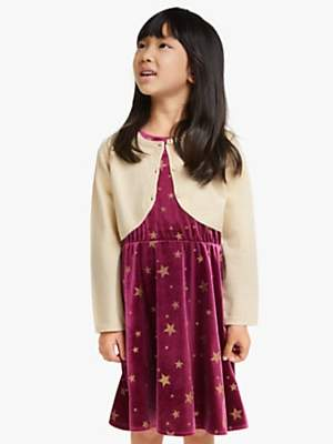 John Lewis & Partners Girls' Glittery Shrug