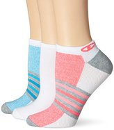 Champion Women's No Show Training Socks -Heather (Pack of 3)