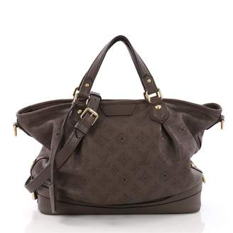 Louis Vuitton Brown Leather Handbag