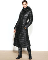 Calvin Klein Hooded Down Puffer Maxi Coat