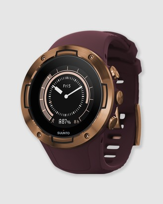 Suunto Red Fitness Trackers - 5 GPS Watch - Size One Size at The Iconic