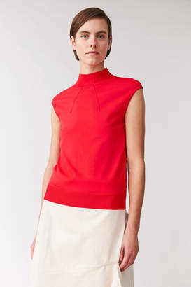 Cos SLEEVELESS KNITTED TOP